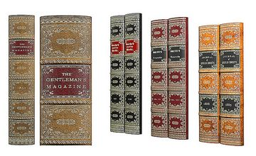Antique Vellum Book Spines